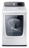 DV50F9A8GVW Samsung 7.4 cu. ft. Capacity Gas Front Load Dryer - Neat White
