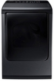 DV50K8600GV Samsung 7.4 Cu. Ft. Gas Front Load Dryer with Multi-Steam Technology - Black Stainless Steel
