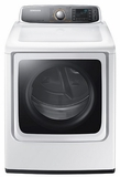 DV56H9000GW Samsung 9.5 cu. ft. Capacity Gas Front Load Dryer - White