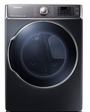 DV56H9100GG Samsung 9.5 cu. ft. Capacity Gas Front Load Dryer - Onyx