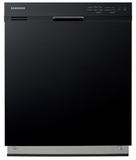 "DW7933LRABB Samsung 24"" Tall Tub Built In Dishwasher - Black"