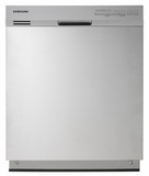 "DW7933LRASR Samsung Tall Tub 24"" Dishwasher - Stainless Steel"