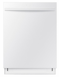 DW80F600UTW Samsung Top Control Dishwasher with Stainless Steel Tub - White