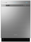 DW80H9970US Samsung Top Control Chef Collection Dishwasher with Water Wall Technology - Stainless Steel