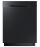 "DW80K50505UB Samsung 24"" Fully Integrated Dishwasher with 6 Wash Cycles and Hard Food Disposer - Black"