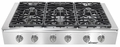 "EG486SCHLP Dacor Discovery 48"" Liquid Propane Gas Range Top - Stainless Steel"