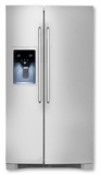 EW26SS85KS Electrolux Standard-Depth Side-By-Side Refrigerator with Wave-Touch� Controls - Stainless Steel