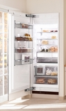 "F1803SF Miele 30"" All Freezer Fully Integrated Right Hinged - CleanTouch Stainless Steel"
