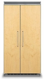 "FDSB5423 Viking Professional 5 Series 42"" Side by Side Built In Refrigerator Freezer - Custom Panel"
