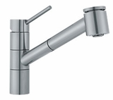 FF2080 Franke Pull-Out Faucet - 1 Hole - Satin Nickel