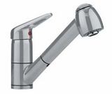 FF2280 Franke Pull-Out Faucet - 1 Hole - Satin Nickel