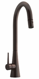 FF2560 Franke Pull-Down High Arc Faucet - 1 Hole - Old World Bronze