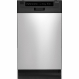 "FFBD1821MS Frigidaire 18"" Built-In Dishwasher - Stainless Steel"