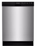 "FFBD2412SS Frigidaire 24"" Full Console Built-In Dishwasher with  Sanitize Rinse and Soft Food Disposer - Stainless Steel"