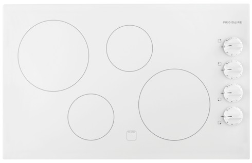 """FFEC3225MW Frigidaire 32"""" Electric Cooktop with Ready-Select Controls - White"""