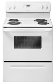 "FFEF3011LW Frigidaire 30"" Free Standing Electric Range with Color Coordinated Porcelain Cooktop - White"
