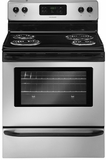 FFEF3015LM Frigidaire 30'' Freestanding Electric Range with Extra-Large Window - Silver Mist