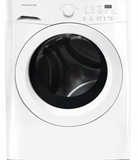FFFW5000QW Frigidaire 3.9 Cu. Ft. Front Load Washer with Stainless Steel Drum - White