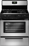 "FFGF3017LS Frigidaire 30"" Freestanding Gas Range with Color Coordinated Glass Door - Stainless Steel"