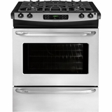 "FFGS3025PS Frigidaire 30"" Slide-in Self-Clean Gas Range - Stainless Steel"