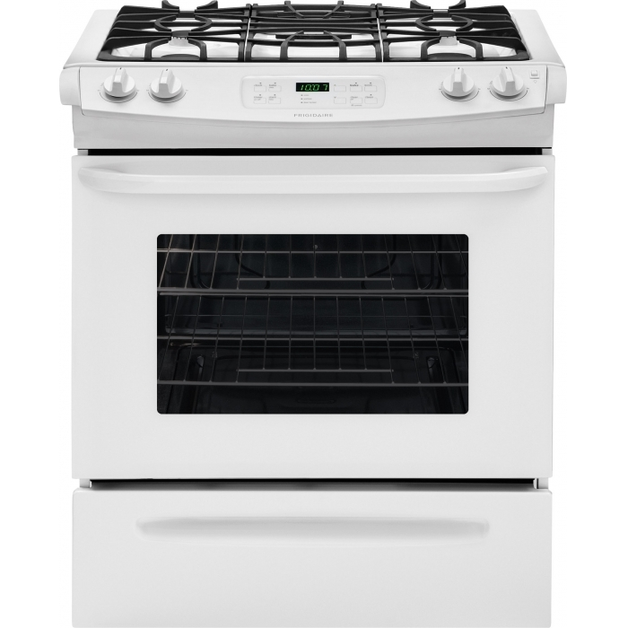 Reviews For Ffgs3025pw Frigidaire 30 Slide In Self Clean Gas Range