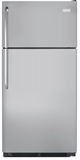 "FFHT1831QM Frigidaire 18 Cu. Ft. Top Freezer 30"" Wide Refrigerator Built with American Pride - Silver Mist"