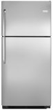 FFHT2021QS Frigidaire 20.4 Cu. Ft. Top Freezer Refrigerator with Reversible Door - Stainless Steel