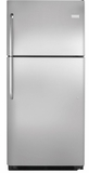 FFHT2126PS Frigidaire 21 Cu. Ft. Top Freezer Refrigerator with Crisper Drawers- Stainless Steel