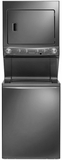 """FFLE4033QT Frigidaire 27""""  Electric Washer/Dryer High Efficiency Laundry Center with 3.8 cu. ft. Washer and 5.5 cu. ft. Dryer  - Slate"""