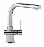 FFP1000 Franke Pull-Out Faucet - 1 Hole - Polished Chrome