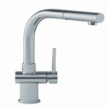 FFP1080 Franke Pull-Out Faucet - 1 Hole - Satin Nickel