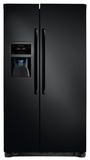 FFSC2323LE Frigidaire 22.2 Cu. Ft. Counter Depth Side-by-Side Refrigerator - Ebony Black