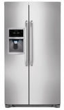 FFSC2323LS Frigidaire 22.6 Cu. Ft. Counter Depth Side-by-Side Refrigerator - Stainless Steel