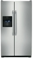 FFSS2314QS Frigidaire 23 cu. ft. Side by Side Refrigerator with Water & Ice Dispenser - Stainless Steel