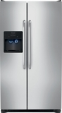 FFSS2614QS Frigidaire 26 Cu.Ft Side by Side Refrigerator with Ultra Water Filtering - Stainless Steel