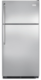 "FFTR1814QS Frigidaire 18 Cu. Ft. Top Freezer 30"" Wide Refrigerator Built with American Pride - Stainless Steel"