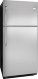 FFTR2021QS Frigidaire 20 cu. ft. Top Mount Refrigerator - Stainless Steel