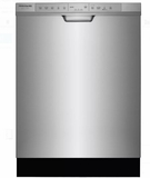 "FGCD2444SA Frigidaire 24"" Gallery Series Full Console Dishwasher with DishSense Technology and 14 Place Settings - Silver"