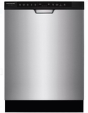"FGCD2444SF Frigidaire 24"" Gallery Series Full Console Dishwasher with DishSense Technology and 14 Place Settings - Smudge Proof Stainless"