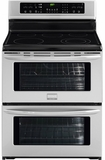 "FGEF302TNF Frigidaire Gallery 30"" Freestanding Electric Double Oven Range - Smudge-Proof Stainless Steel"