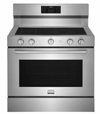 """FGEF4085TS Frigidaire Gallery 40"""" Freestanding Electric Range with True Convection and Quick Clean - Stainless Steel"""
