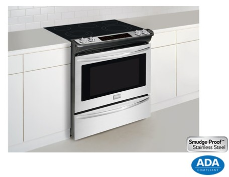 Fges3065pf Frigidaire Gallery 30 Quot Slide In Electric Range
