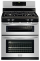 FGGF301DNF Frigidaire Gallery 30'' Freestanding Gas Double Oven Range - Stainless Steel