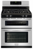 FGGF301DNF Frigidaire Gallery 30'' Freestanding Gas Double Oven Range - Smudge-Proof Stainless Steel