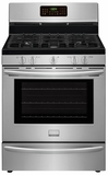 FGGF3058RF Frigidaire Gallery 30'' Freestanding Gas Range with True Convection - Stainless Steel