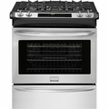 "FGGS3065PF Frigidaire Gallery 30"" Gas Slide-In Range with Convection & Sealed Burners - Stainless Steel"