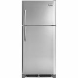 FGHI2164QF Frigidaire Gallery 20.5 Cu. Ft. Top Freezer Refrigerator - Smudge-Proof Stainless Steel