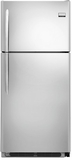 FGHT2148PF Frigidaire Gallery 20.6 Cu. Ft. Top Freezer Refrigerator with Smudge-Proof Stainless Steel