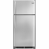 FGTR1845QF Frigidaire Gallery 18 Cu. Ft. Top Freezer Refrigerator - Smudge-Proof Stainless Steel