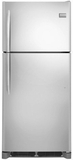 "FGTR2044QF Frigidaire Gallery 30"" Top Freezer Refrigerator with Spillsafe Shelves & Reversible Door - Stainless Steel"